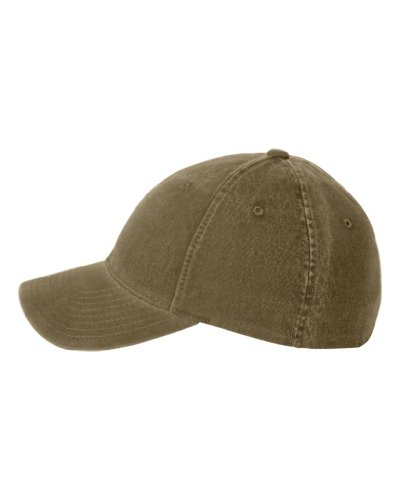 Flexfit Low-profile Soft-structured Garment Washed Cap (Loden, ()