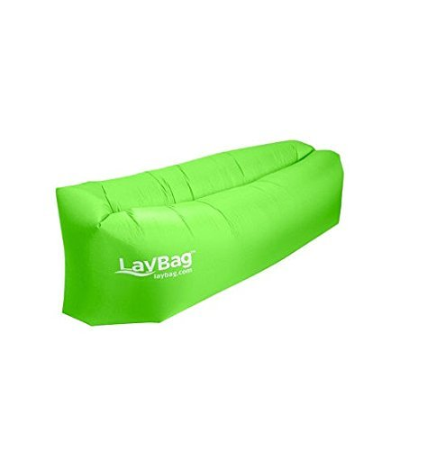 Amazon Com Durable Laybag Inflatable Air Lounge Green Garden