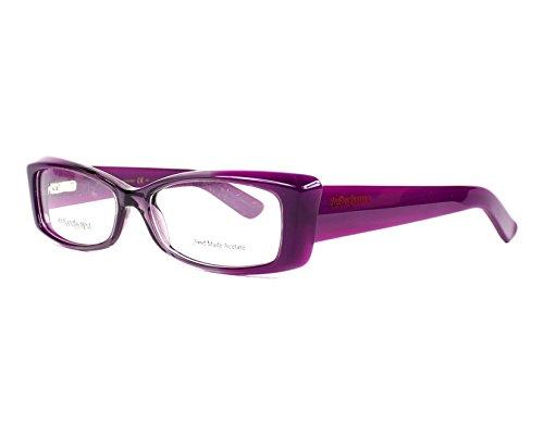 Yves St Laurent YSL 6334 Sunglasses (0AV6) Violet Shaded, 53 - Glasses Reading Shaded