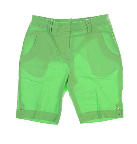Bette & Court New Womens Solid Shorts Size 8 Lime Green