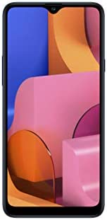 "Samsung Galaxy A20s (32GB 2GB RAM) 6.5"" HD+ Triple Camera SM-A207F/DS 4G LTE (AT&T Europe Asia Africa Cuba Digitel) Dual SIM GSM Factory Unlocked - International Version - No Warranty (Blue)"
