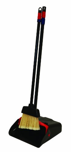 O-Cedar Commercial Maxi Plus Lobby Dust Pan with Lobby Broom, Assembled ()