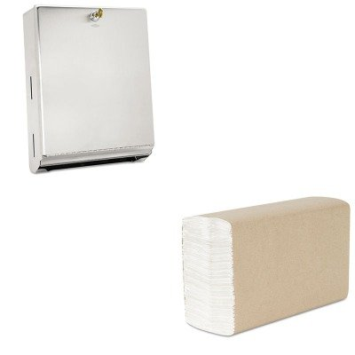 kitbob262kim02920 – Value Kit – Kimberly Clark Scott reciclado C-fold toallas de mano (