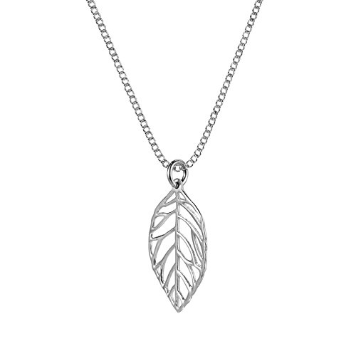 Contempory Cut out Sterling Silver Necklace product image
