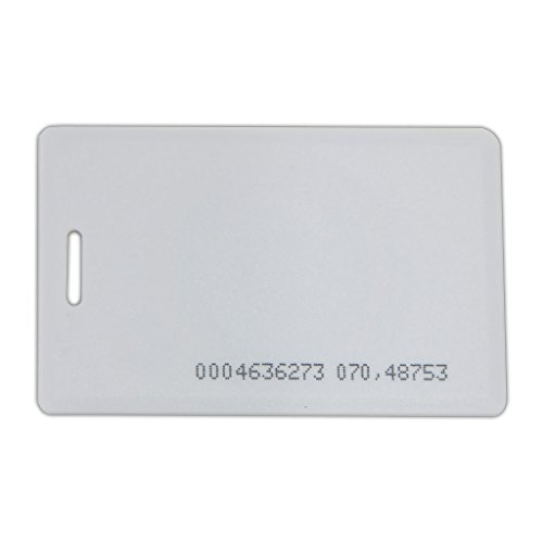 20 Count DX Series Clam Shell 125KHz Access Control Cards, for use with DX Readers Only! by SecurityCameraKing