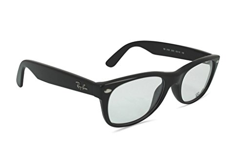 Ray-Ban New Wayfarer Square Eyeglasses,Shiny Black,52 - New Prescription Glasses Ray Ban Wayfarer