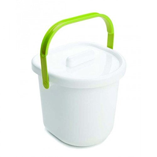 Neat Nursery Company - Nappy Pail White/Lime 5055378201691