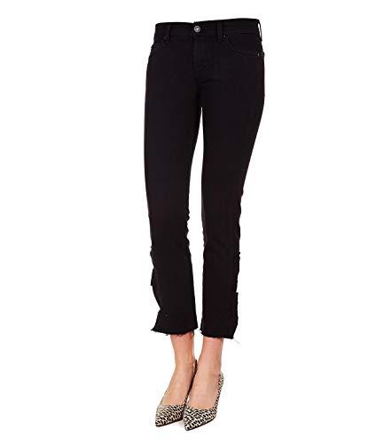 Coton For 7 Noir Femme Jslja200gr Jeans Mankind All wgqxaqYT6p