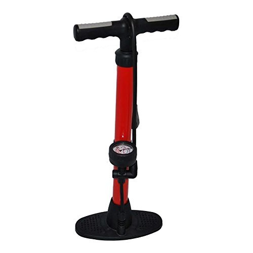 ROCKBROS Floor Pump 21 with Barometer 200 PSI 14 Bar Dual Head with Presta and Schrader Valve Suitable 100/% Air-In Valve System