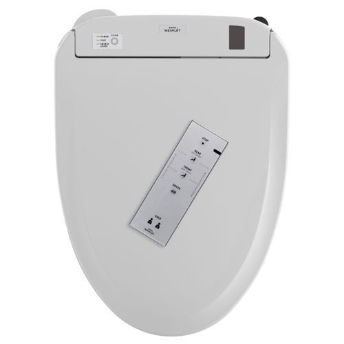 Toto S350e Elongated Bidet Seat SW584T20#01 With Remote Cont