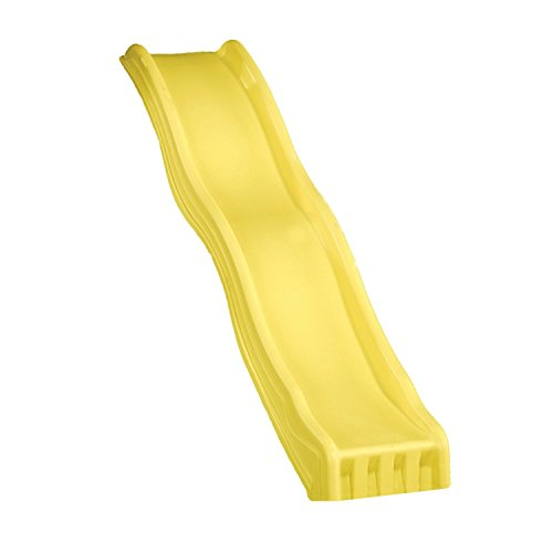Cool Wave 7 Foot Slide Color: Yellow