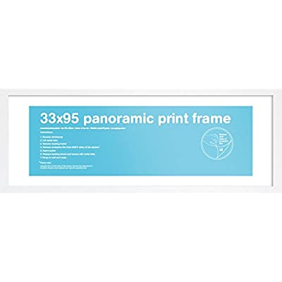 Gb Eye Ltd Blanc Panoramique 33x95cm Eton Cornice