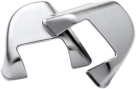 CUHAWUDBA Adesivo per Rivestimento Pulsanti con Rivestimento Cromato Lucido per Range Rover Sport 2014-2019 Accessori per Lo Styling Auto