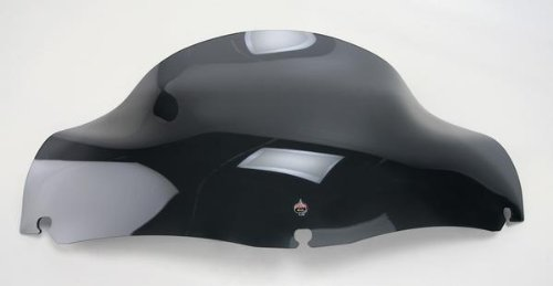 Klock Werks Flare Windshield 8.5 Inch Dark Smoke FLH 96-11 ()