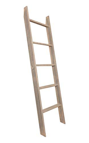 Storage 72' Closet (BrandtWorks Worn Gray Ladder 20'' x 72'')