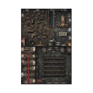 WizKids WZK72478 RPG Premium Map Tavern