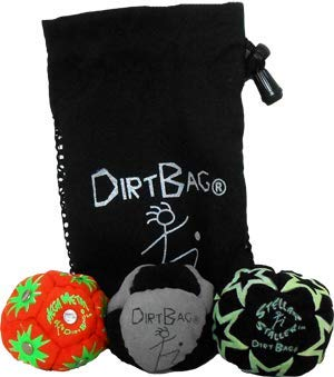 Dirtbag All Star 3 Pack With Pouch blue yellow w// blue pouch