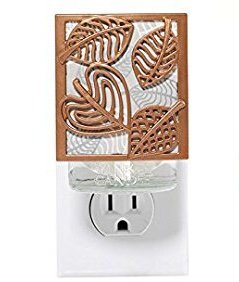 Linear Leaves (Yankee Candle Linear Leaves Night Light Scent-Plug Air Freshener Base)