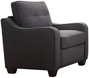 ACME Furniture 53792 Cleavon II Chair, Gray Linen