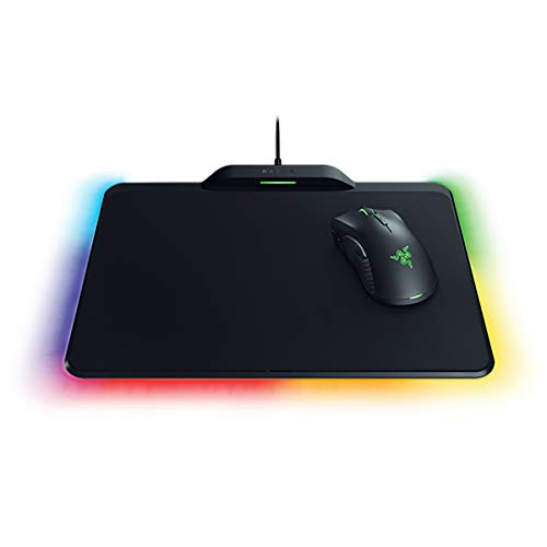 IDS Home Mamba HyperFlux Lightweight Wireless Gaming Mouse + Firefly HyperFlux Double Mouse Pad Set