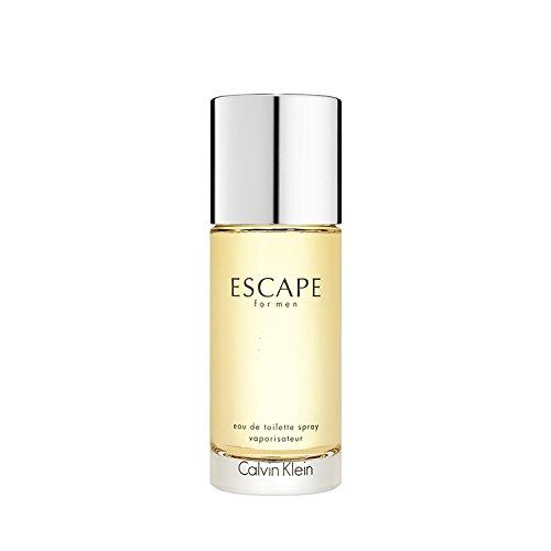 Calvin Klein Escape Eau de Toilette Spray para Hombre, 3.4 Oz/100 ml