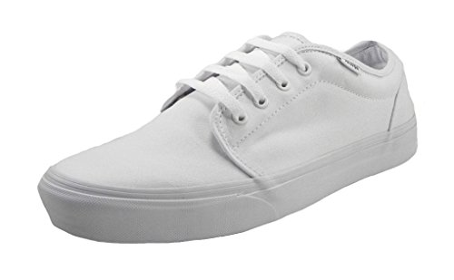 Vans Unisex 106 Vulcanized Core Classics True White Sneaker Men's 7, Women's 8.5 - Vans Cheap Women
