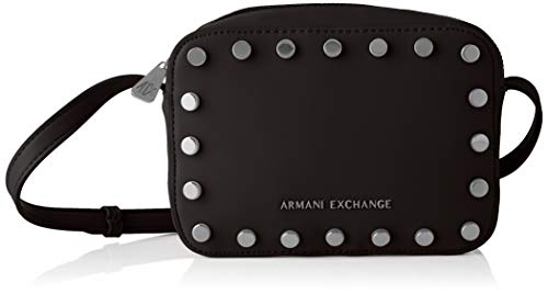 A|X Armani Exchange Women's Fashion Small Crossbody, nero - black ()