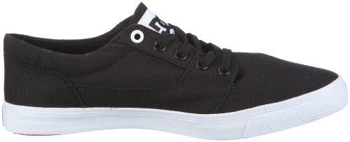 DC Shoes Bristols Canvas Womens Shoe D0303113-1 - Zapatillas de tela para mujer Negro (Schwarz/Black/White)
