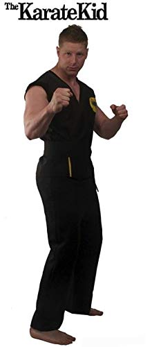 InCogneato Men's Cobra Kai Adult Costume -