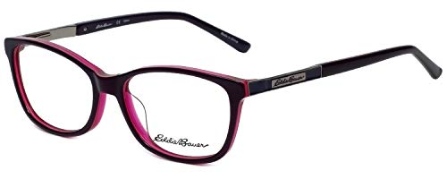 Eddie Bauer Designer Eyeglass Frame EB32209-PU in Purple 54mm