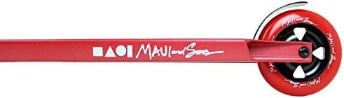 Maui And Sons Shredder - Patinete Infantil, Rojo: Amazon.es ...