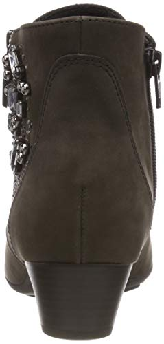 Gris Botines Shoes anthrazit 19 Gabor Basic Para Mujer gqTU4F4