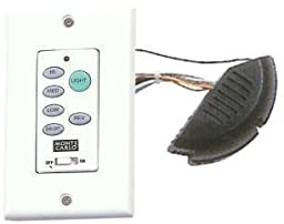 Ceiling Fan Wall Mounted Remote Control and Receiver