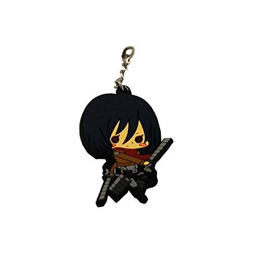 Attack on Titan Anime Mikasa - Llavero de doble cara: Amazon ...