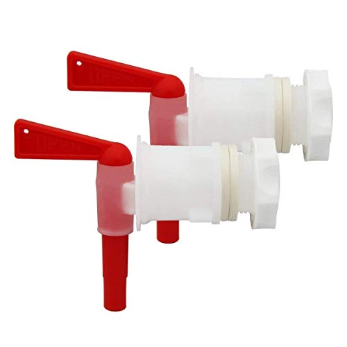 Wine Making - Bottling Spigot Filler Spout Tap Wine Making Beer White - Pail Plastic Wine Sauvignon Clarifier Disinfectant Chips Machine Carboy Cane Thermometers Magazine Yeast Essentials Grap ()
