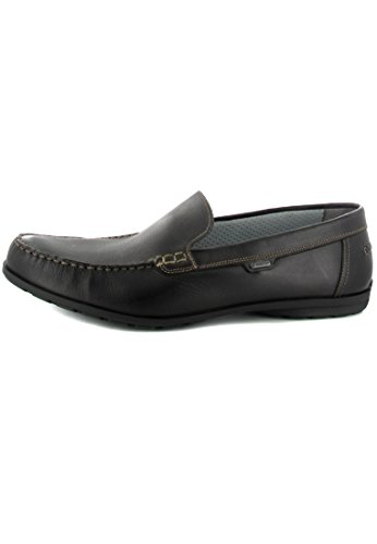 SALE - FRETZ MEN - Sorrento - Herren Slipper - Braun Schuhe in Übergrößen