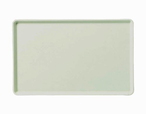 Carlisle 1418LFG007 Fiberglass Glasteel Solid Low Edge Tray, 18