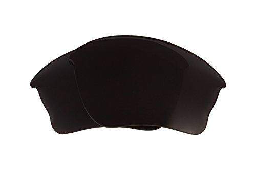Best SEEK OPTICS Replacement Lenses Oakley HALF JACKET XLJ - Polarized Black - Lenses Iridium Oakley Jacket Half Polarized Black