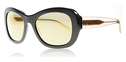 Burberry Damen Sonnenbrille BE4189, Schwarz (Black 35074T), One size (Herstellergröße: 54)