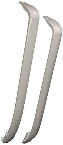 Ximoon WR12X22148 Refrigerator Door Handle Set Freezer Fridge Part for Sears GE AP5949272, WR12X11011, WR12X20141