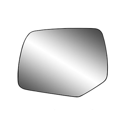Make Auto Parts Manufacturing Left/Driver Side Non-Heated Flat Mirror Glass Assembly With Backing Plate For Ford Escape 2008-2012 / For Mercury Mariner 2008-2011 - FO1324121