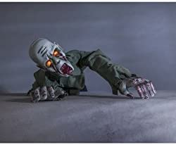 Kriechen Zombie Bewegungsmelder Halloween Dekoration 76 2 X 40 6 X 30 5 Cm Amazon De Garten