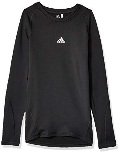 adidas Soccer Alphaskin Sport Long Sleeve Training Tee, Black, Medium