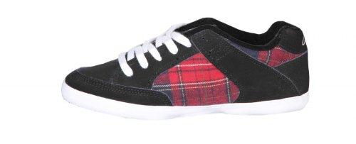 Circa Skateboard Damen Schuhe 205 Vulc Black/Red Plaid sneakers shoes