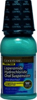 Anti Diarrheal Mint - Good Sense Loperamide Anti-Diarrheal Suspension Mint 4oz Case Pack 12