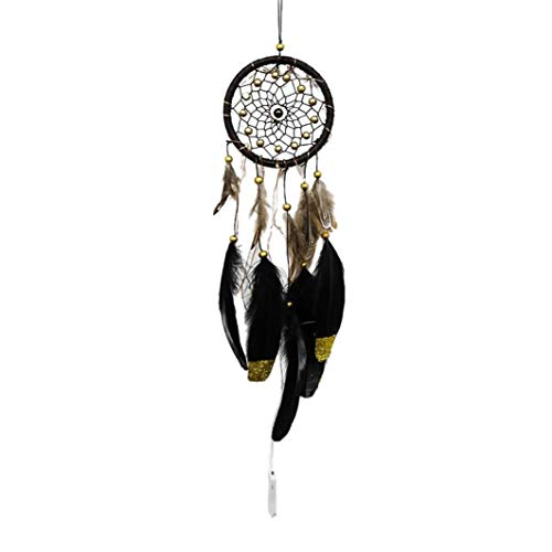 XILALU Dream Catcher with Lamp- 2 Meter 20LED Lighting Girl Room Bell Bedroom Romantic Wall Decoration Hanging Home Wedding Decor Craft Gift Photo Props