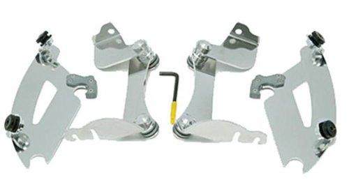 Memphis Shades MEK1976 Trigger-Lock Mounting Kit (Polished fits Honda VTX1300C 2004 - 2009) by Memphis Shades