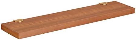 ディスプレイスタンド フローティングウォールシェルフ単層壁装飾収納ラック多機能フローティングブック収納オーガナイザー強い耐荷力 QTKGG (Size : 40×13×2.5cm)