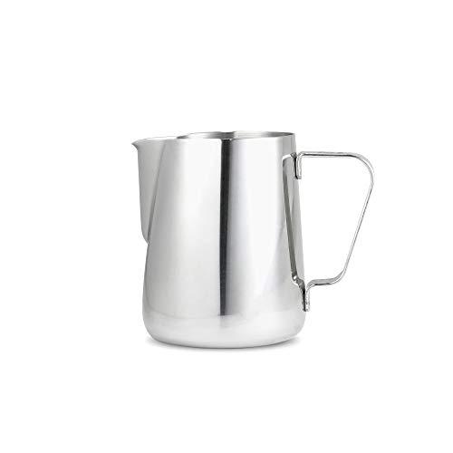 TCHER12 Espresso Parts Milk Pitcher, 12 oz, Stainless Steel ()