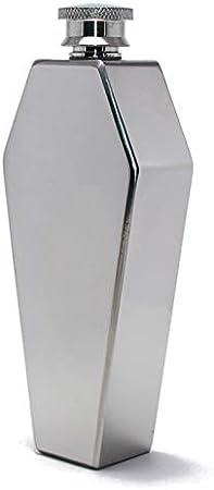 VEED Mini petaca portátil de 3,5 oz, Whisky, Vodka, Acero Inoxidable, petaca, Regalo para Hombres